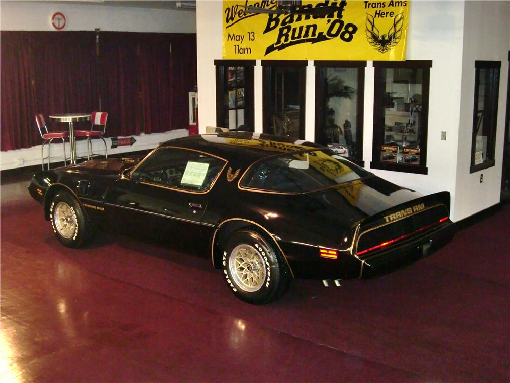 1979 PONTIAC TRANS AM 2 DOOR COUPE - Rear 3/4 - 93629