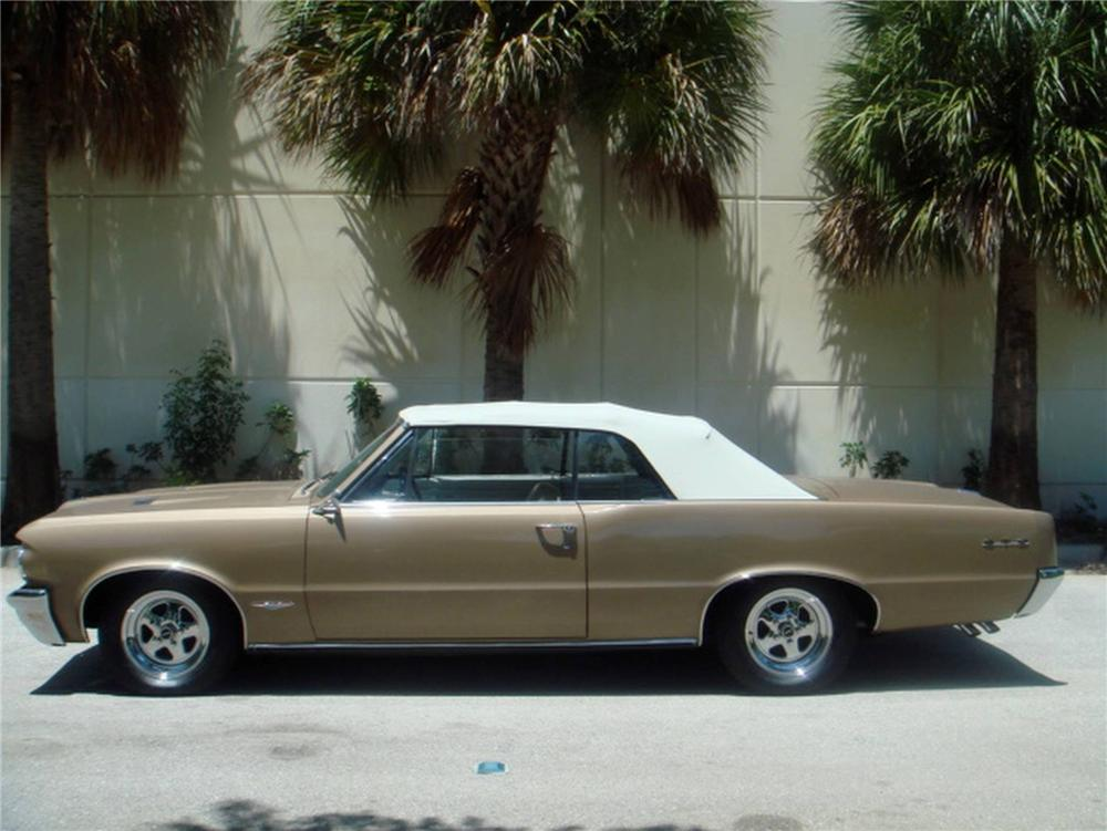 1964 PONTIAC GTO CONVERTIBLE - Side Profile - 93634
