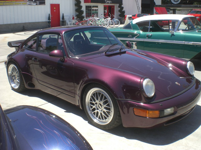 1991 PORSCHE 911 TURBO COUPE - Front 3/4 - 93638