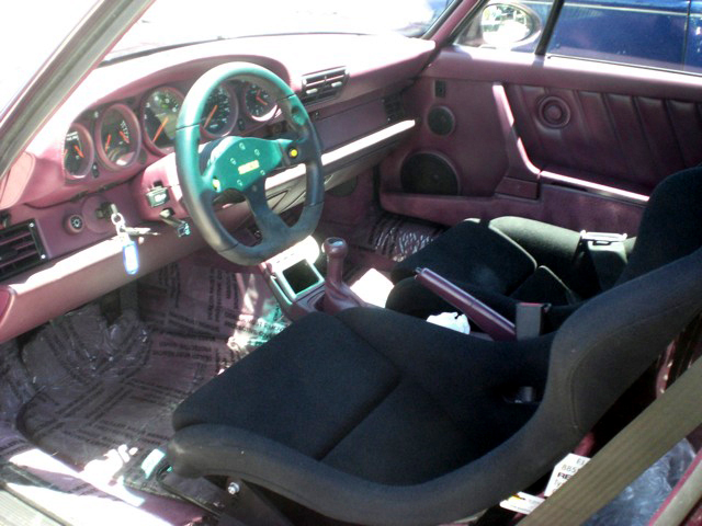 1991 PORSCHE 911 TURBO COUPE - Interior - 93638