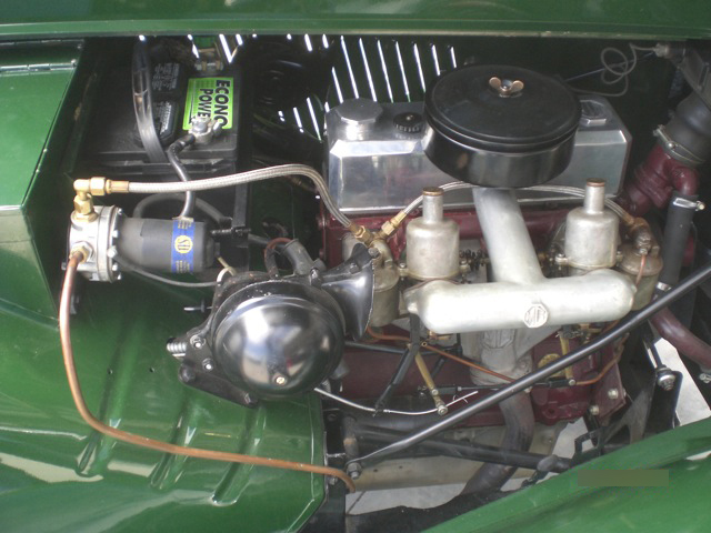 1953 MG TD CONVERTIBLE - Engine - 93642