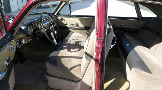 1949 LINCOLN COSMOPOLITAN 4 DOOR SPORT SEDAN - Interior - 93647