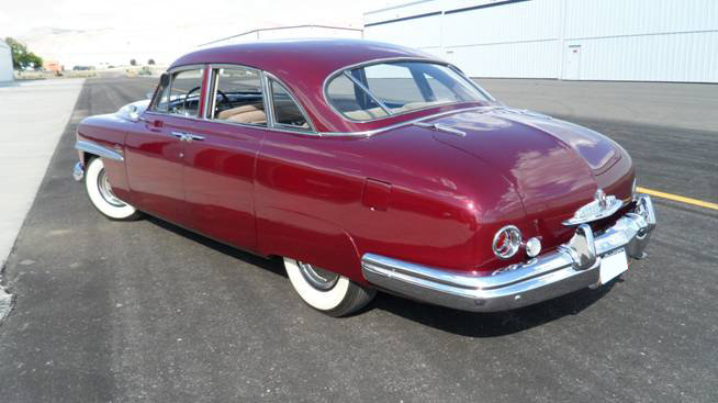 1949 LINCOLN COSMOPOLITAN 4 DOOR SPORT SEDAN - Rear 3/4 - 93647