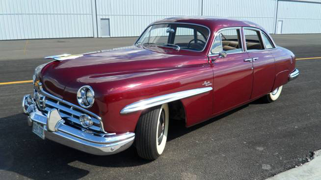 1949 LINCOLN COSMOPOLITAN 4 DOOR SPORT SEDAN - Side Profile - 93647