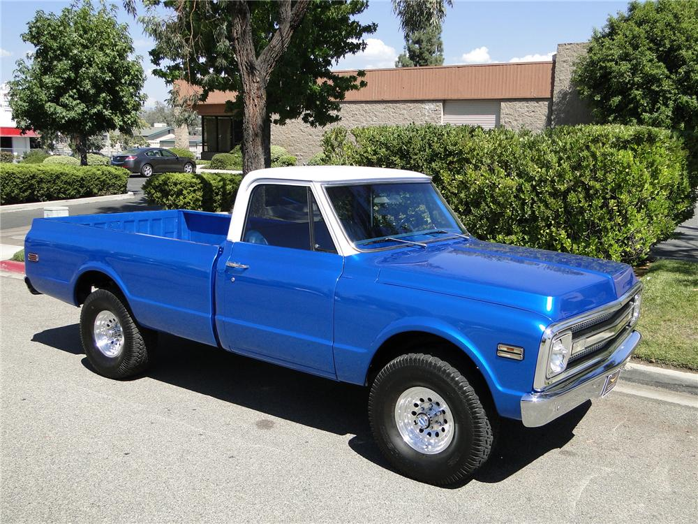 1970 CHEVROLET 4X4 PICKUP - Front 3/4 - 93649