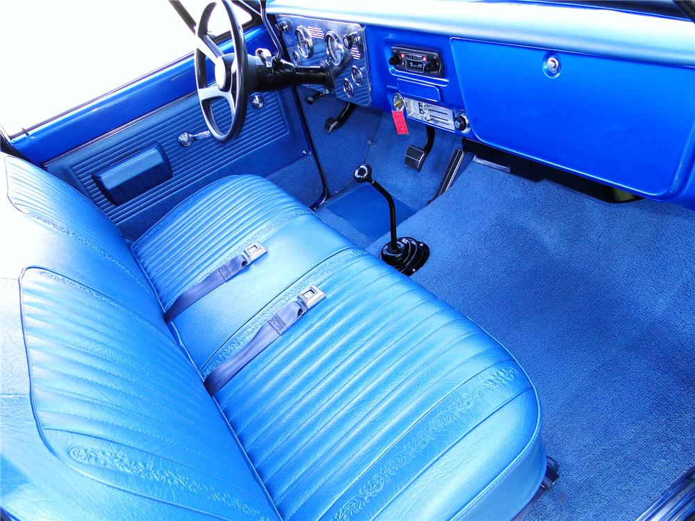 1970 CHEVROLET 4X4 PICKUP - Interior - 93649
