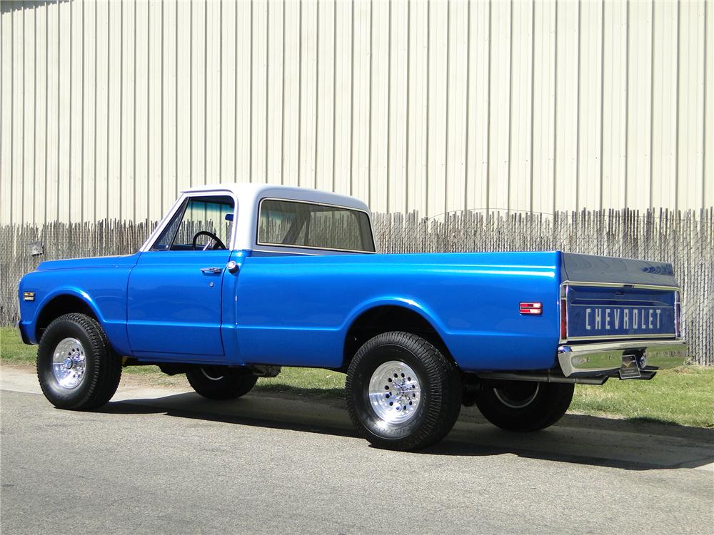1970 CHEVROLET 4X4 PICKUP - Rear 3/4 - 93649