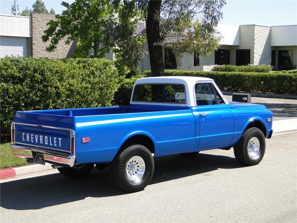 1970 CHEVROLET 4X4 PICKUP - Side Profile - 93649