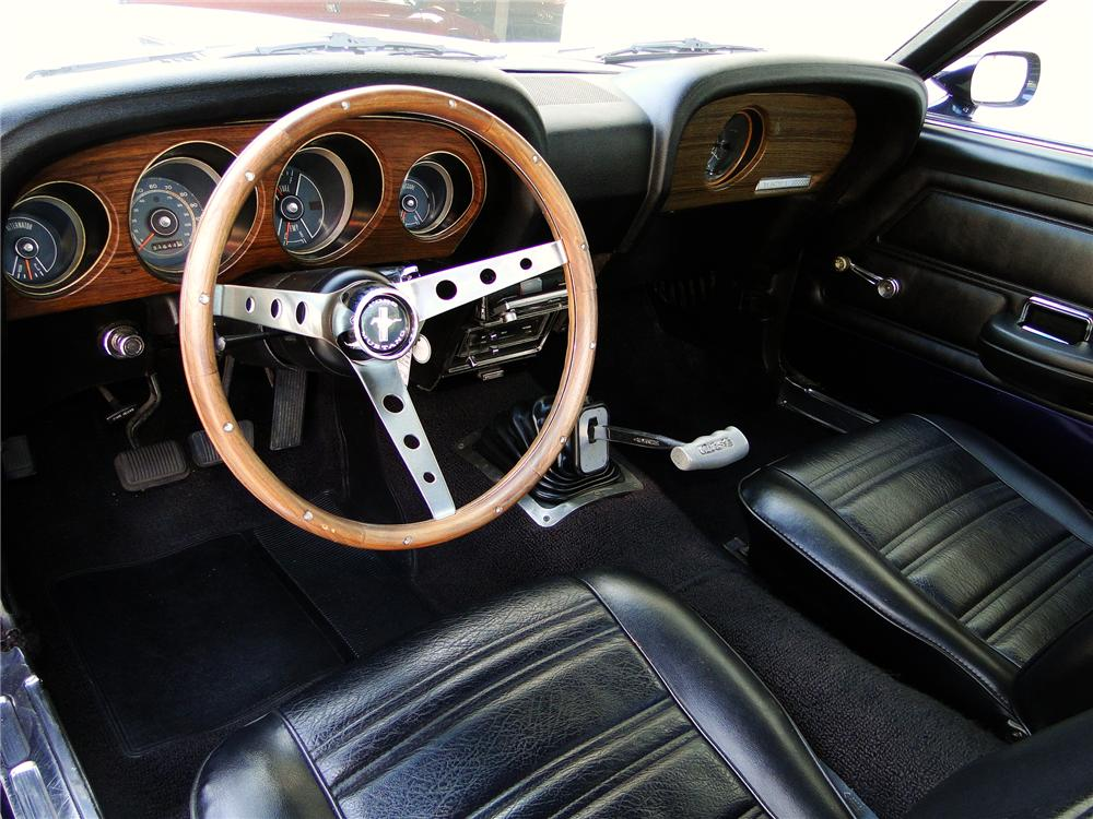 1970 FORD MUSTANG FASTBACK - Interior - 93652