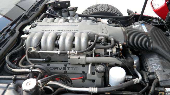 1991 CHEVROLET CORVETTE ZR-1 COUPE - Engine - 93653