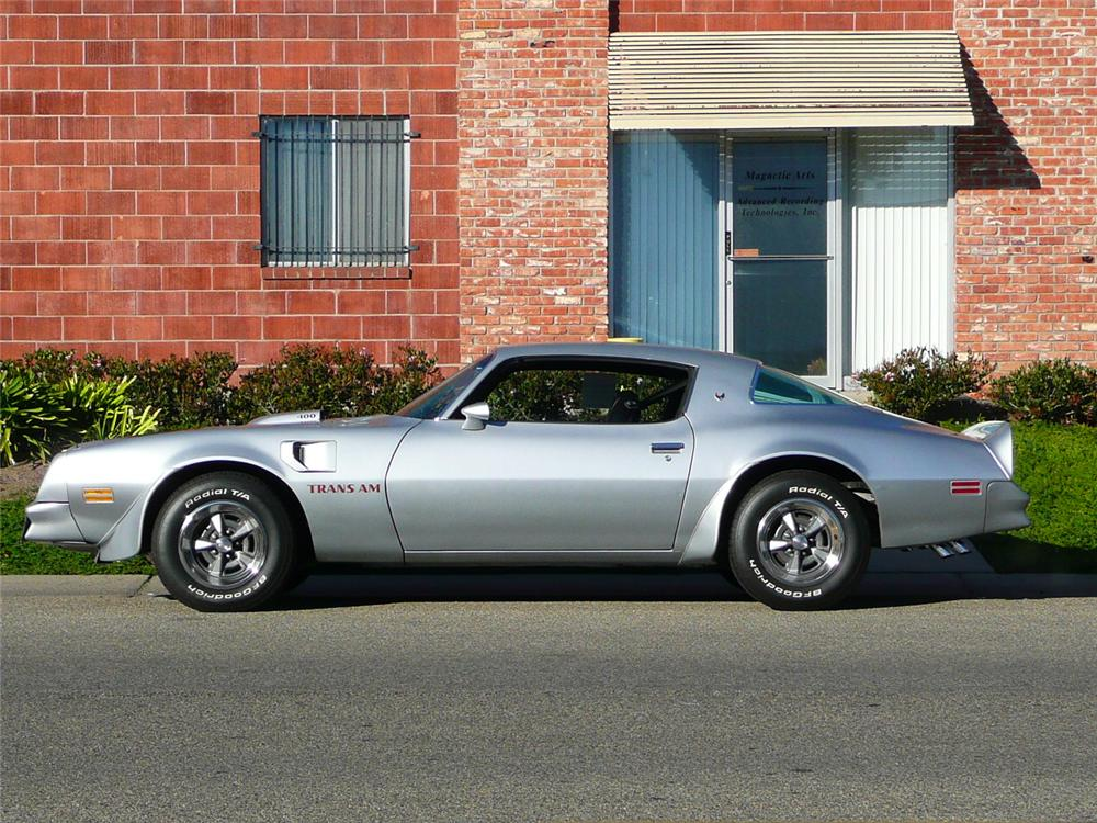1976 PONTIAC FIREBIRD TRANS AM 2 DOOR HARDTOP - Side Profile - 93658