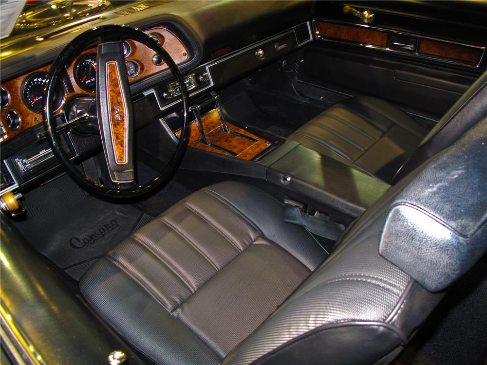 1970 CHEVROLET CAMARO Z/28 COUPE - Interior - 93667