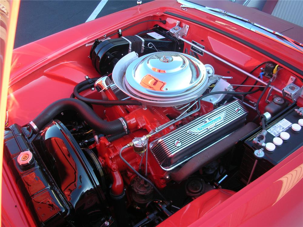 1956 FORD THUNDERBIRD CONVERTIBLE - Engine - 93670