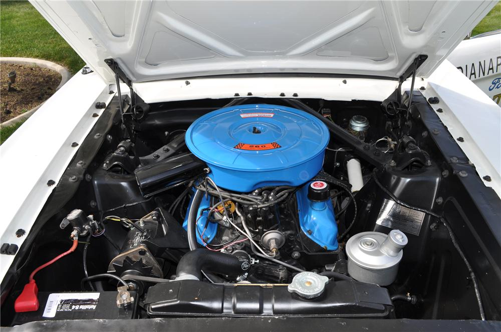 1965 FORD MUSTANG PACE CAR COUPE - Engine - 93671