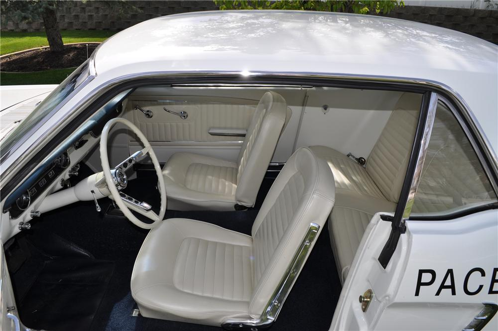 1965 FORD MUSTANG PACE CAR COUPE - Interior - 93671