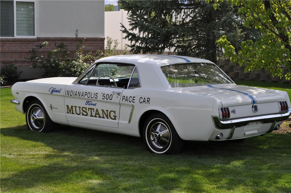 Ford Dealership Scottsdale >> 1965 FORD MUSTANG PACE CAR COUPE - 93671