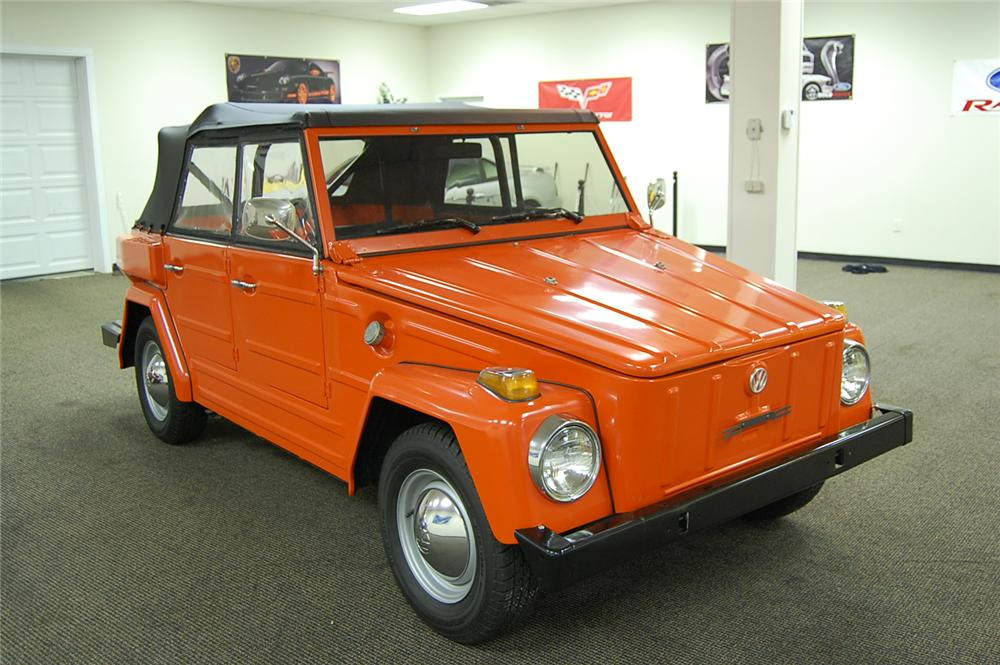 1974 VOLKSWAGEN THING CONVERTIBLE - Front 3/4 - 93686