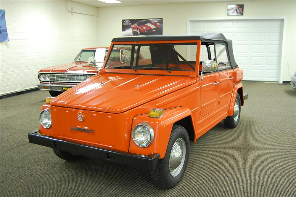 1974 VOLKSWAGEN THING CONVERTIBLE - Side Profile - 93686