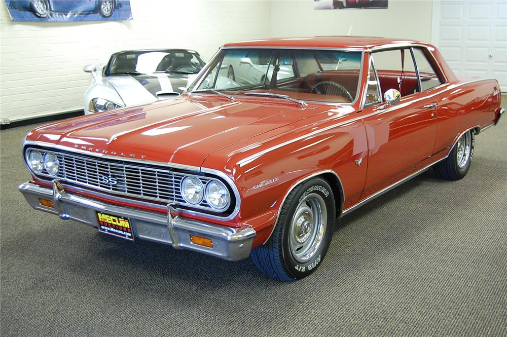 1964 CHEVROLET CHEVELLE MALIBU SS 2 DOOR COUPE - Front 3/4 - 93688