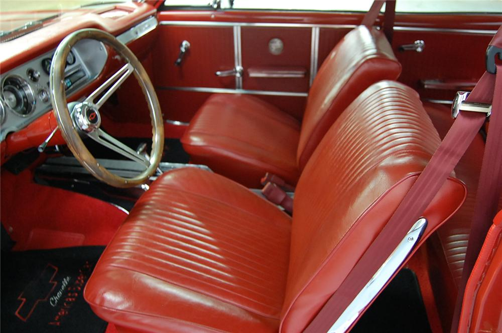1964 CHEVROLET CHEVELLE MALIBU SS 2 DOOR COUPE - Interior - 93688