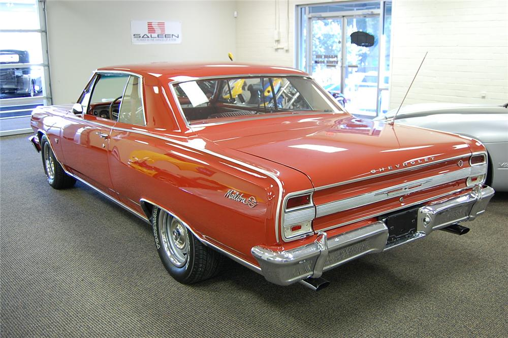 1964 CHEVROLET CHEVELLE MALIBU SS 2 DOOR COUPE - Rear 3/4 - 93688