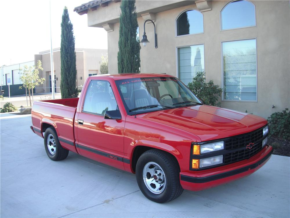 1993 CHEVROLET 1500 1/2 TON PICKUP - Front 3/4 - 93689