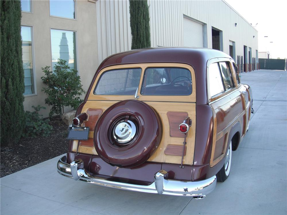 1951 FORD WOODY WAGON - Rear 3/4 - 93693
