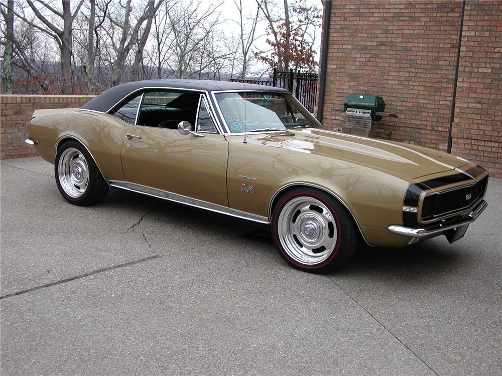 1967 CHEVROLET CAMARO CUSTOM COUPE - Front 3/4 - 93698