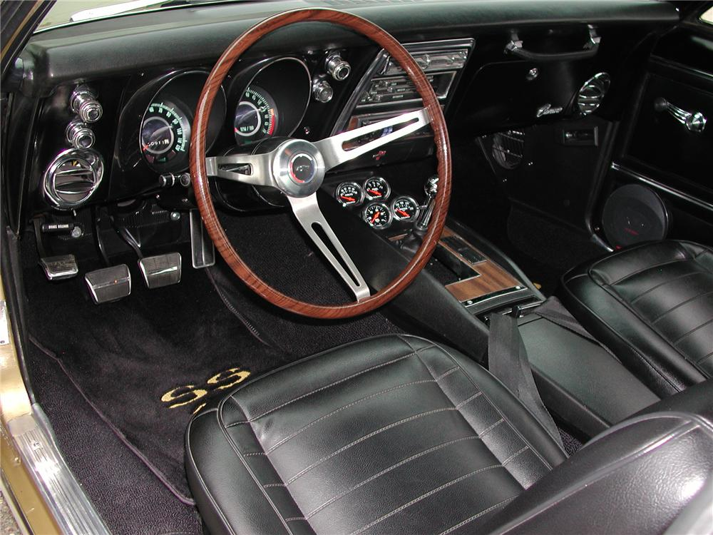 1967 CHEVROLET CAMARO CUSTOM COUPE - Interior - 93698