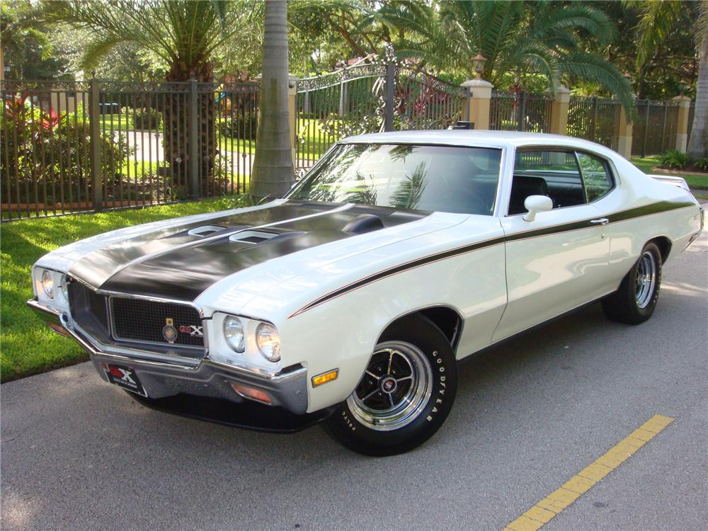 1970 BUICK GSX 2 DOOR COUPE - Side Profile - 93704