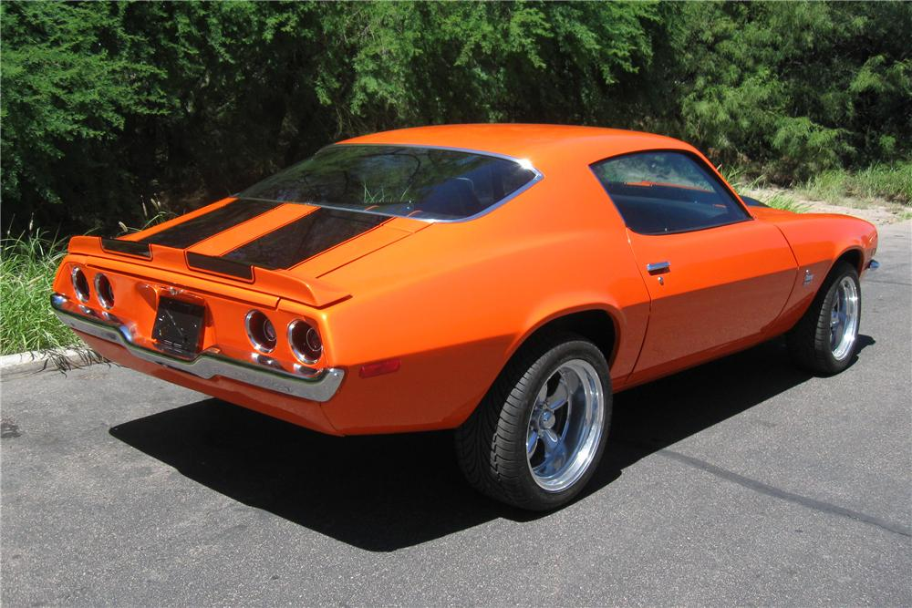 1971 Chevrolet Camaro Custom 2 Door Hardtop 93850