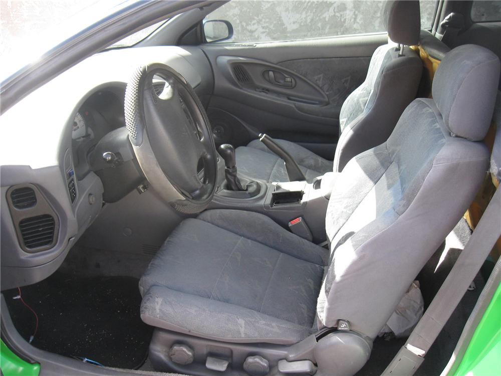 1996 MITSUBISHI ECLIPSE CUSTOM 2 DOOR COUPE - Interior - 93851