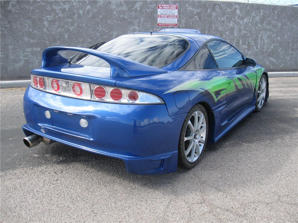 1996 MITSUBISHI ECLIPSE CUSTOM 2 DOOR COUPE - Rear 3/4 - 93851