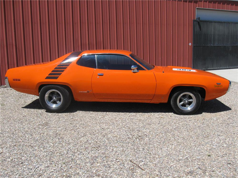 1971 PLYMOUTH SPORT SATELLITE 2 DOOR COUPE - Side Profile - 93857