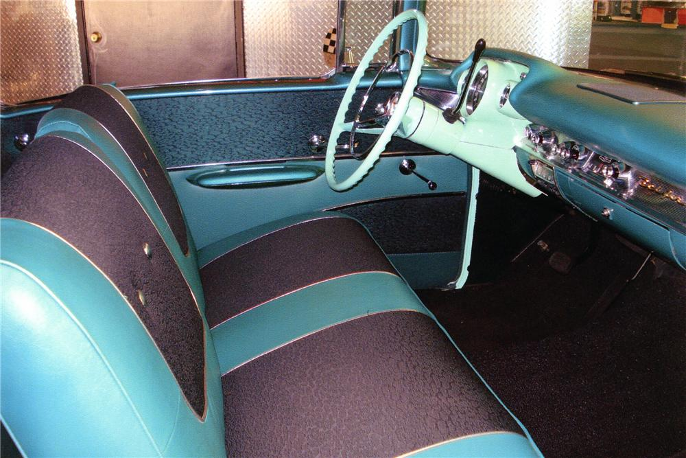 1957 CHEVROLET BEL AIR CUSTOM 2 DOOR HARDTOP - Interior - 93863