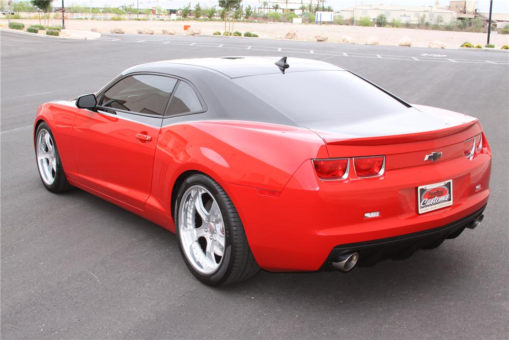 2010 CHEVROLET CAMARO CUSTOM COUPE - Rear 3/4 - 93922