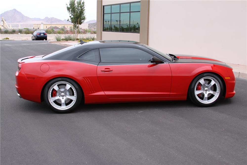 2010 CHEVROLET CAMARO CUSTOM COUPE - Side Profile - 93922