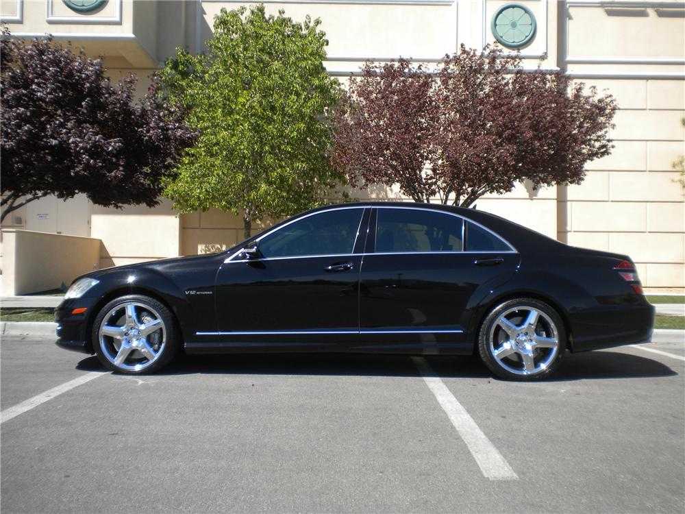 2007 MERCEDES-BENZ S65 SEDAN - Side Profile - 93924