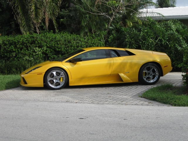 2002 LAMBORGHINI MURCIELAGO 2 DOOR COUPE - Side Profile - 93951