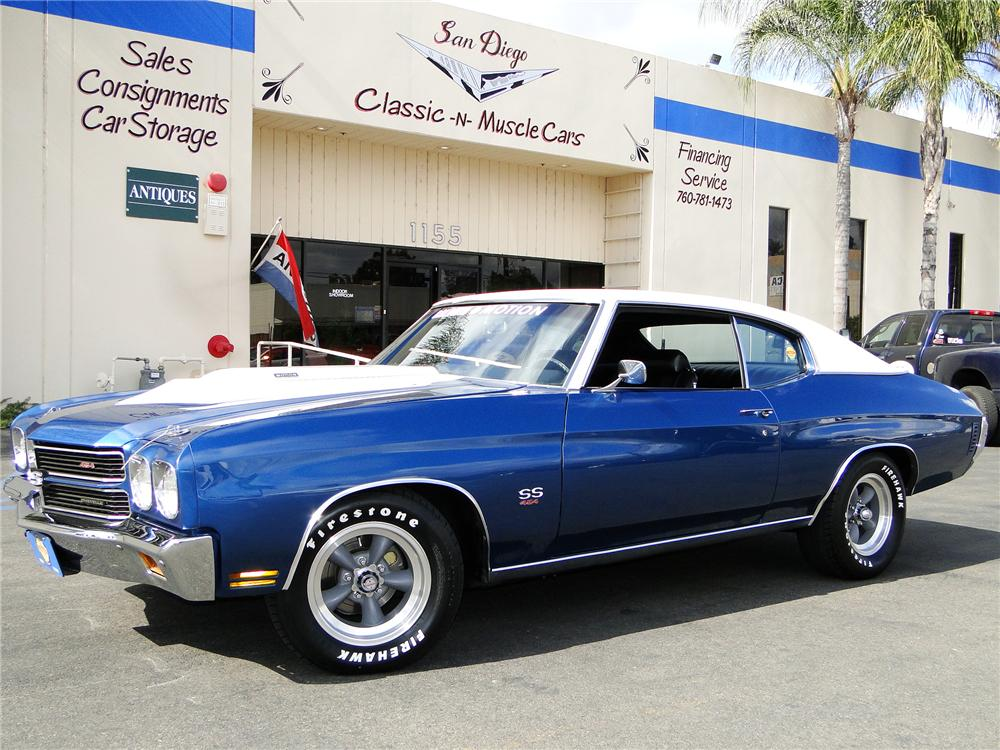 1970 CHEVROLET CHEVELLE SS 454 BALDWIN-MOTION RE-CREATION - Front 3/4 - 93990