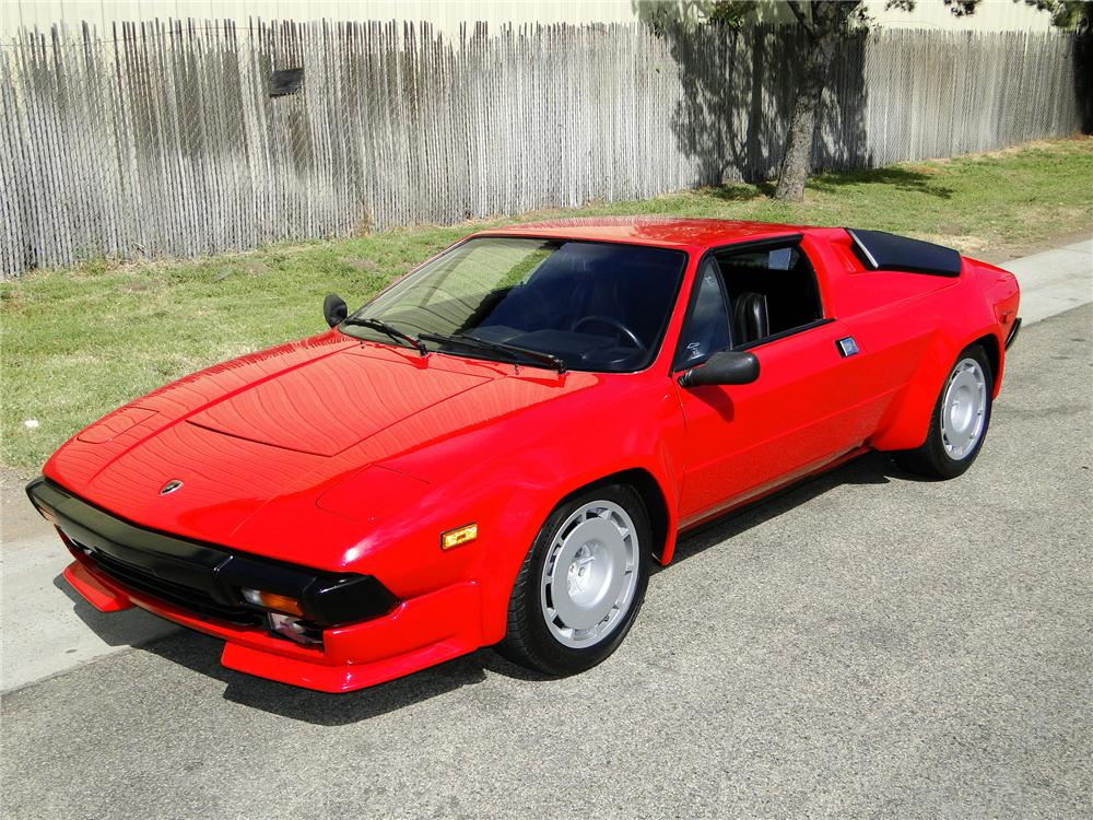 1983 LAMBORGHINI JALPA TARGA COUPE - Side Profile - 93992