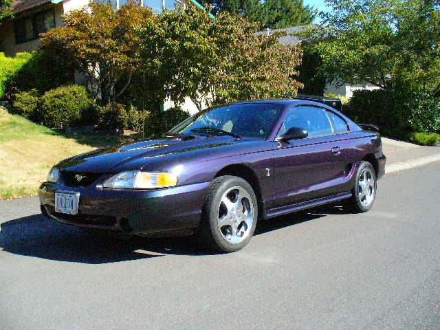 1996 FORD MUSTANG COBRA COUPE - Front 3/4 - 94015