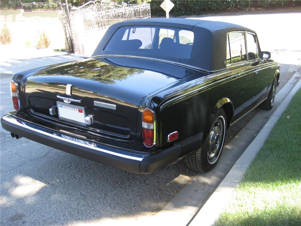 1978 ROLLS-ROYCE SILVER WRAITH 4 DOOR SEDAN - Rear 3/4 - 94025