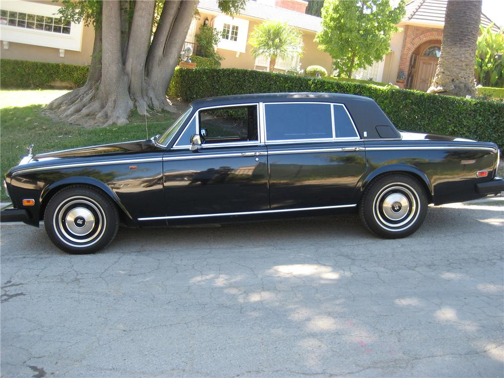 1978 ROLLS-ROYCE SILVER WRAITH 4 DOOR SEDAN - Side Profile - 94025