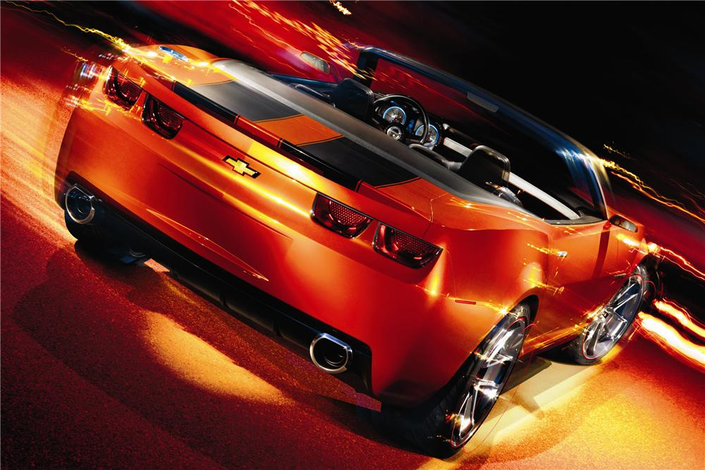 2011 CHEVROLET CAMARO CONVERTIBLE - Rear 3/4 - 94028