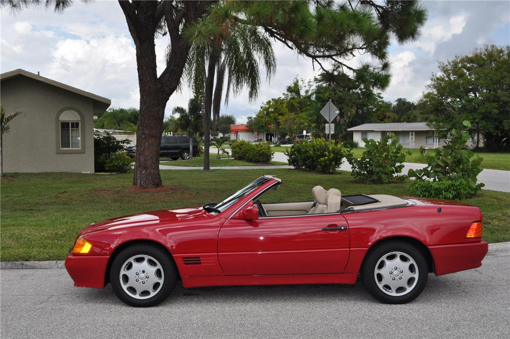1994 MERCEDES-BENZ 500SL 2 DOOR ROADSTER - Side Profile - 94033