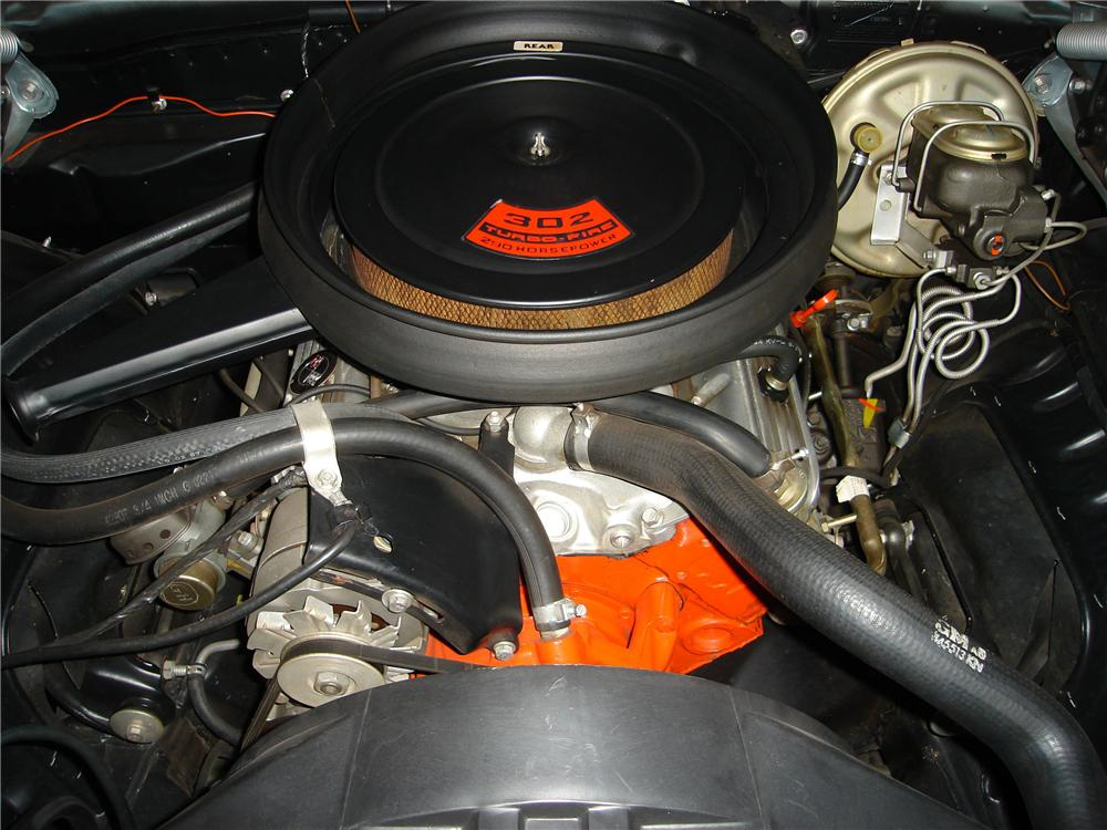 1969 CHEVROLET CAMARO Z/28 2 DOOR COUPE - Engine - 94036