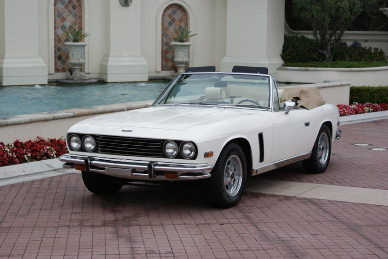 1976 JENSEN INTERCEPTOR CONVERTIBLE - Front 3/4 - 94037