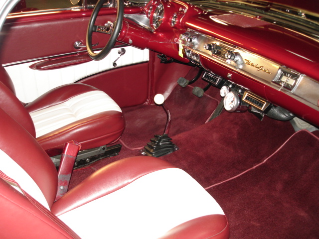 1957 CHEVROLET NOMAD CUSTOM 2 DOOR WAGON - Interior - 94039