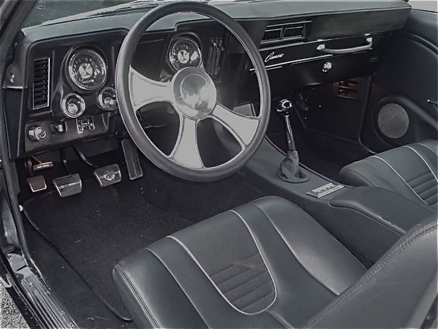 1969 CHEVROLET CAMARO CUSTOM CONVERTIBLE - Interior - 94040